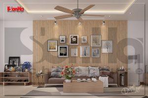 BIA Nội thất nhà phố đơn giản 3 tầng ấn tượng tại Phú Thọ NT NOD 0172