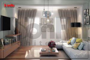 BIA Nội thất nhà phố hiện đại đẹp 5 tầng tại huyện An Dương Hải Phòng NT NOD 0133