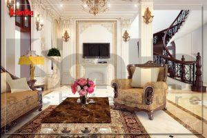 BIA Thiết kế nội thất biệt thự cổ điển tại vĩnh phúc NT BTP 0015