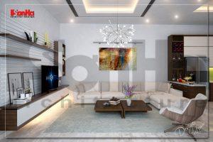 BIA Thiết kế nội thất biệt thự hiện đại đẹp tại hải phòng NT BTD 0039