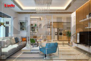 BIA Thiết kế nội thất biệt thự phố hiện đại 3 tầng cao cấp tại Hải Phòng NT BTD 0041