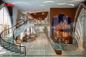BIA Thiết kế nội thất khách sạn 5 sao Imperia Boat tai Hải Phòng
