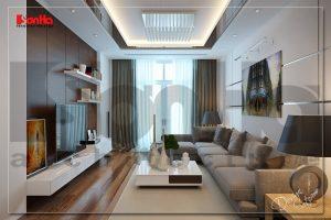 BIA Thiết kế nội thất nhà ống hiện đại 3 tầng tại quận Ngô Quyền Hải Phòng NT NOD 0125