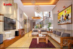 BIA Thiết kế nội thất nhà phố đẹp 70m2 tại Quảng Ninh NT NOD 0135