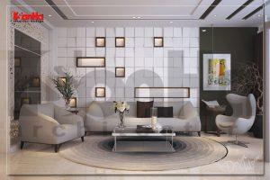 BIA Thiết kế nội thất nhà phố hiện đại tại Sài Gòn đẹp hút mắt NT NOD 0131