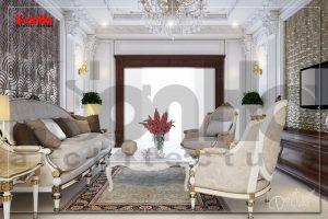 BIA Thiết kế thi công nội thất biệt thự cổ điển đẹp tại Hà Nam NT BTP 0018