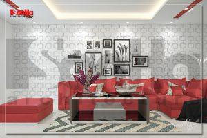 BIA Trang trí nội thất nhà ống 6 tầng hiện đại đẹp mắt tại Quảng Ninh NT NOD 0124