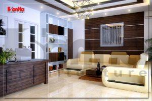 BIA Trang trí nội thất nhà phố hiện đại tại hòa bình NT NOD 0145