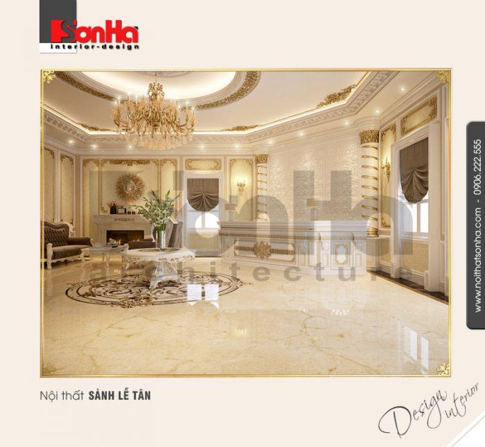 1.Thiết kế nội thất sảnh lễ tân đẹp của spa tại Đà nẵng NT BTP 0084