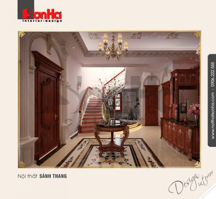 10.Mẫu nội thất sảnh thang trang trí đẹp
