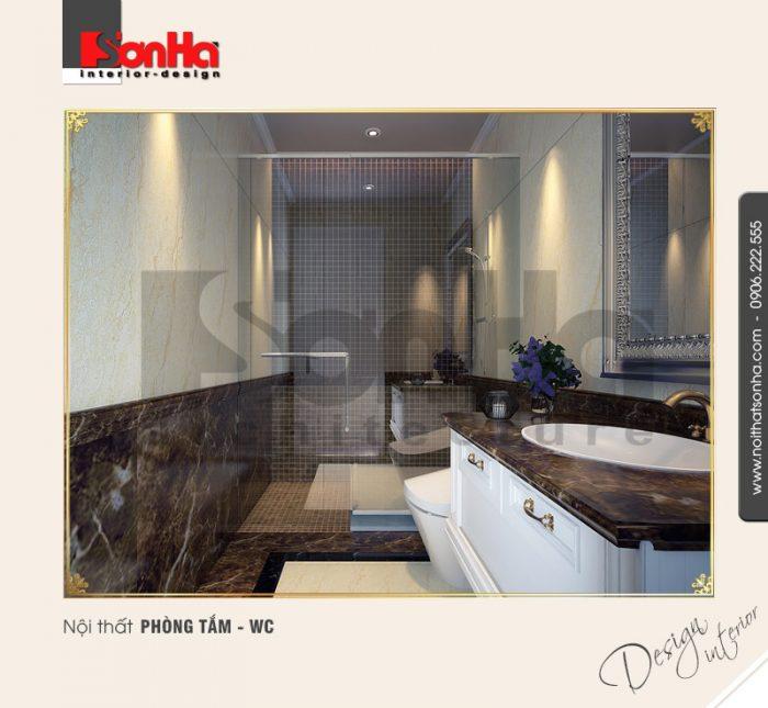 11.Thiết kế nội thất phòng tắm wc bố trí hợp lý