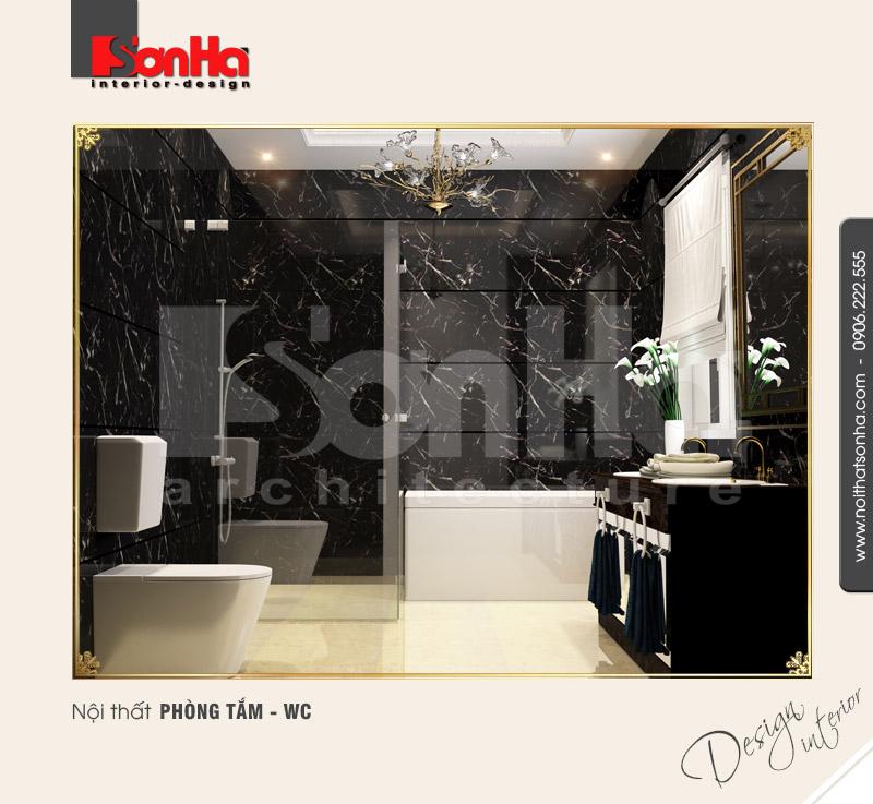 11.Thiết kế nội thất phòng tắm wc thiết kế nhỏ hợp lý