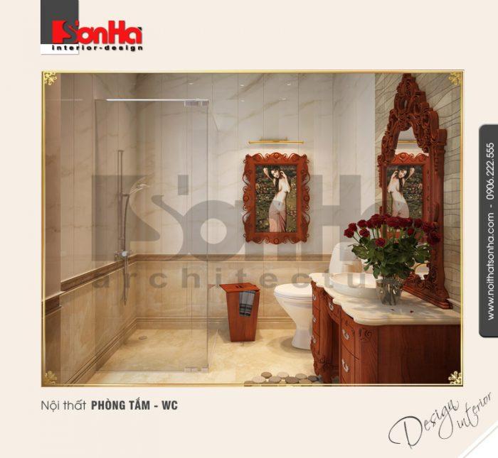 11.Thiết kế nội thất phòng tắm wc trang trí đẹp