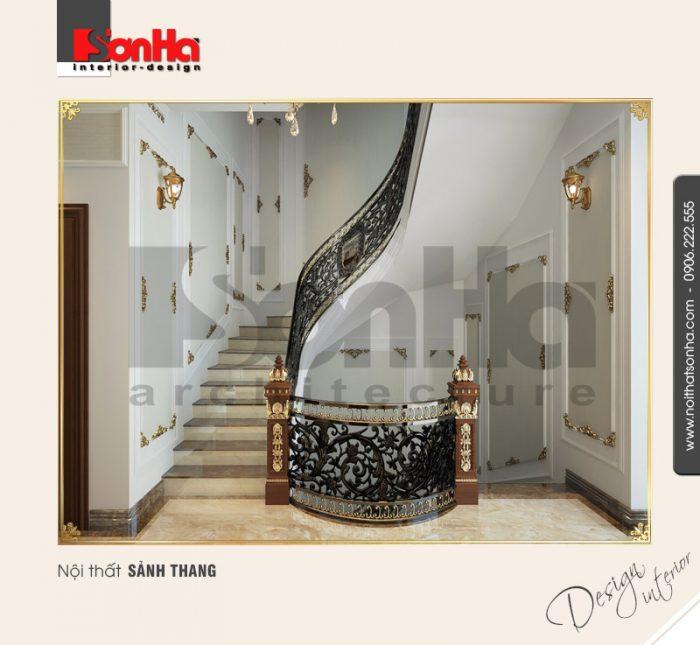 11.Thiết kế nội thất sảnh thang đẹp