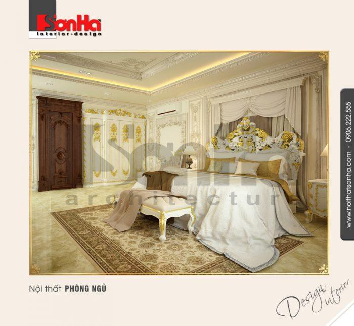 12.Mẫu nội thất phòng ngủ cổ điển