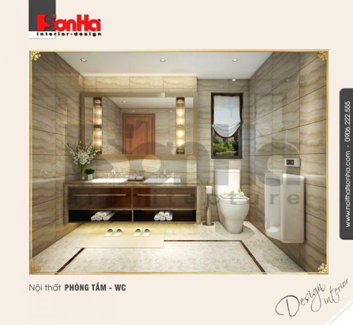13.Thiết kế nội thất phòng tắm wc bố trí đẹp