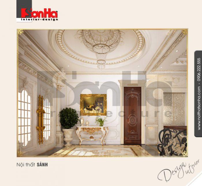 13.Thiết kế nội thất sảnh bài trí hợp lý