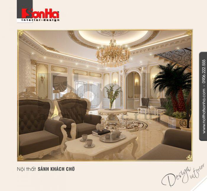 2.Mẫu nội thất sảnh khách chờ đơn giản NT BTP 0084