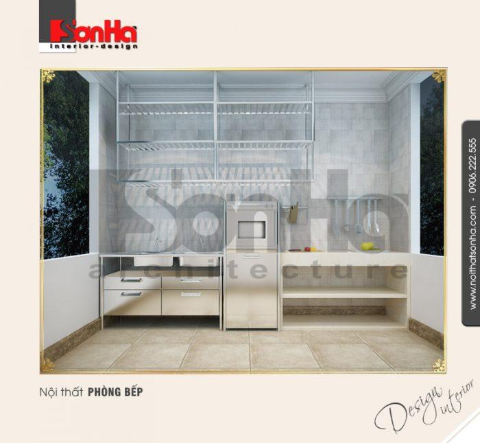 3.Thiết kế nội thất phòng bếp đơn giản