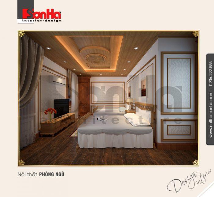 3.Thiết kế nội thất phòng ngủ bố trí hợp lý