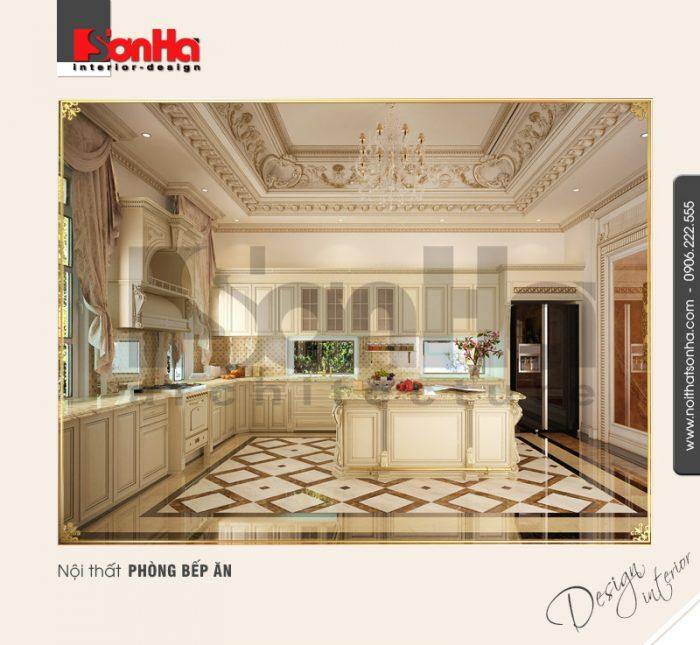 4.Mẫu nội thất phòng bếp đẹp