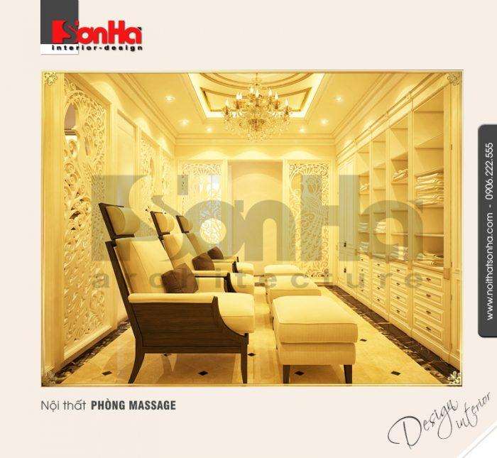 4.Mẫu nội thất phòng massage sang trọng NT BTP 0084
