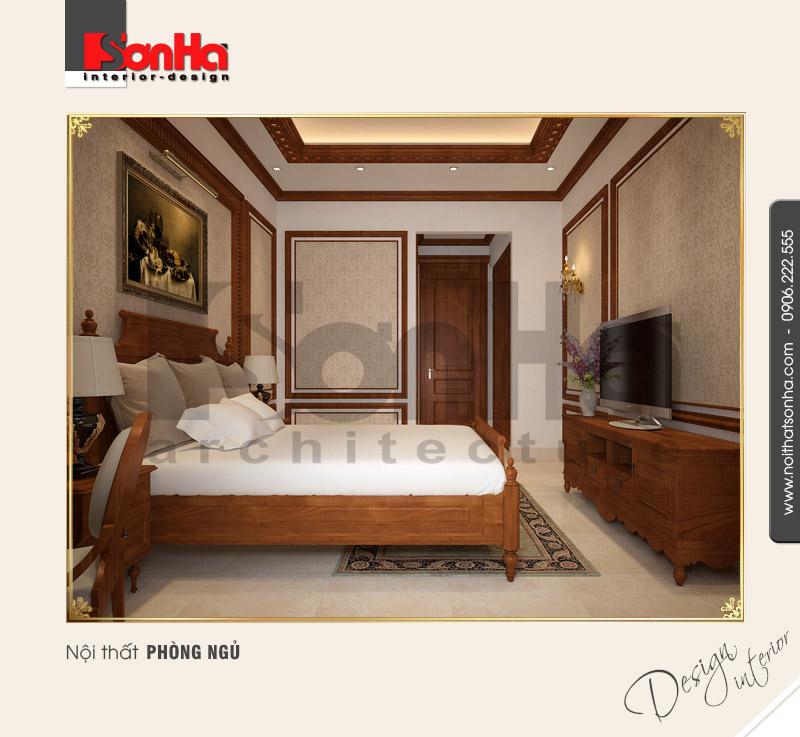 4.Mẫu nội thất phòng ngủ cách tân cổ điển