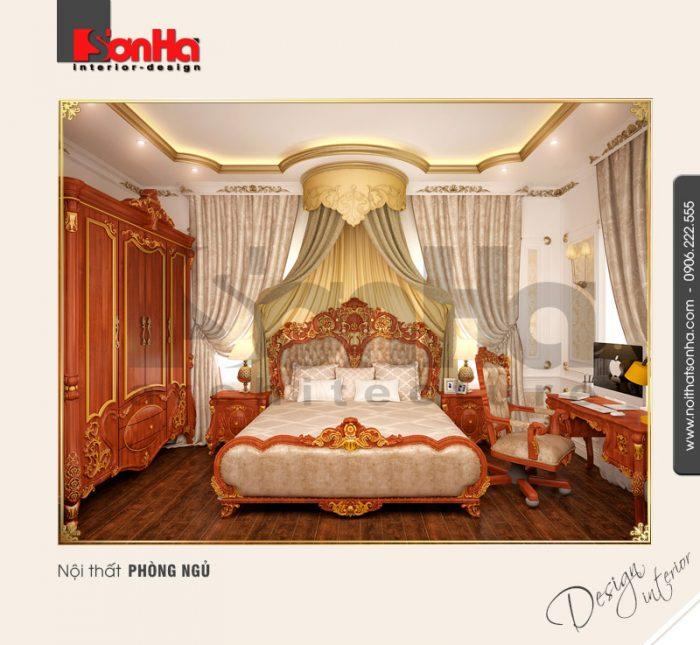 4.Mẫu nội thất phòng ngủ sang trọng