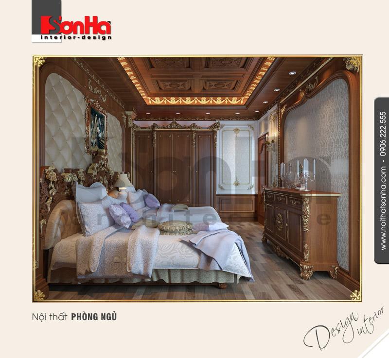 4.Mẫu nội thất phòng ngủ thiết kế tinh tế