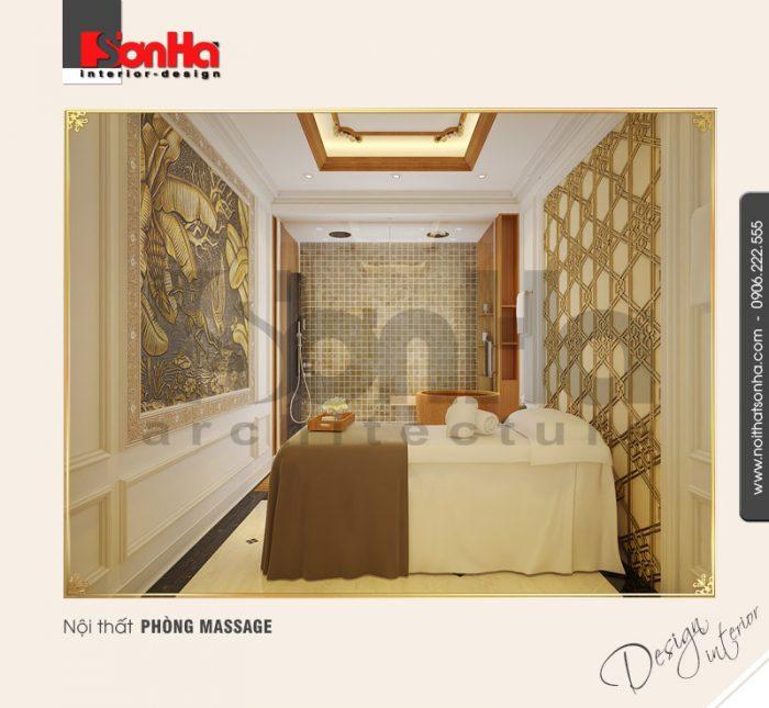 5.Thiết kế nội thất phòng massage đẹp NT BTP 0084