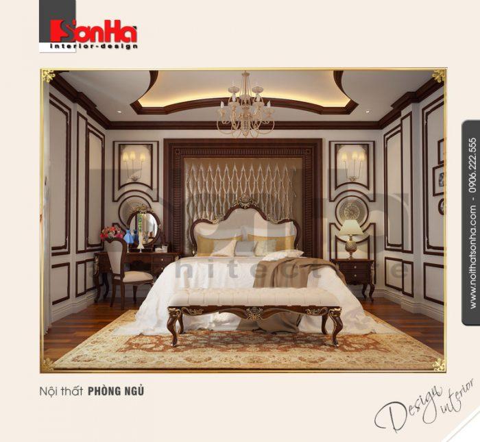 5.Thiết kế nội thất phòng ngủ cổ điển