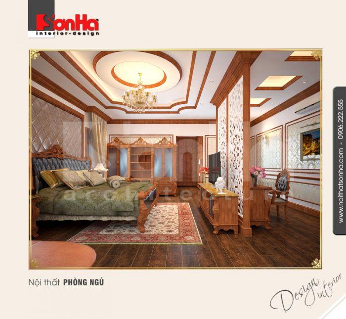 5.Thiết kế nội thất phòng ngủ sang trọng tinh tế
