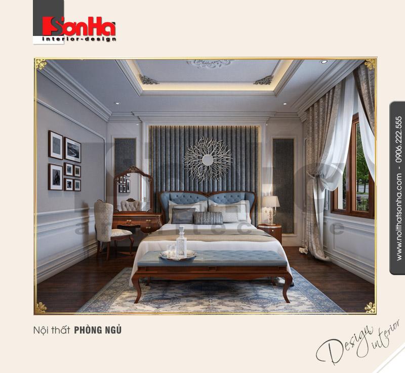 5.Thiết kế nội thất phòng ngủ tinh tế đẹp NT BTP 0094