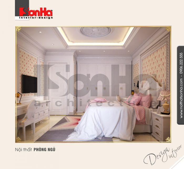6.Mẫu nội thất phòng ngủ cá tính NT BTP 0092