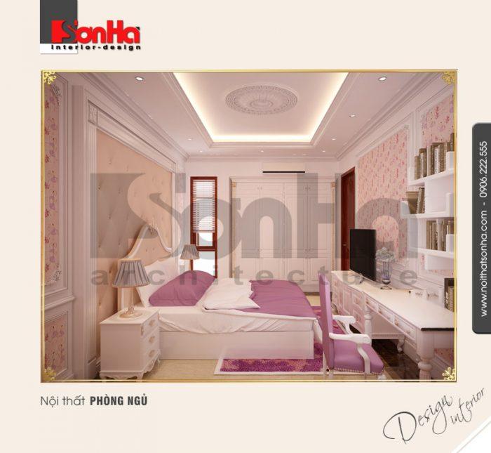 6.Mẫu nội thất phòng ngủ con gái đẹp