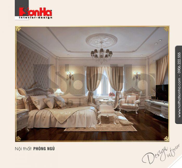 6.Mẫu nội thất phòng ngủ phong cách pháp