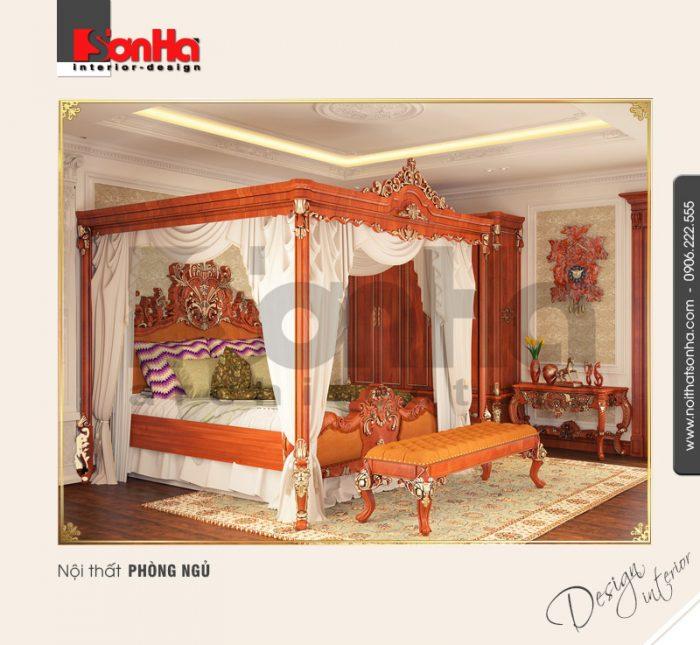 6.Mẫu nội thất phòng ngủ thiết kế tinh tế