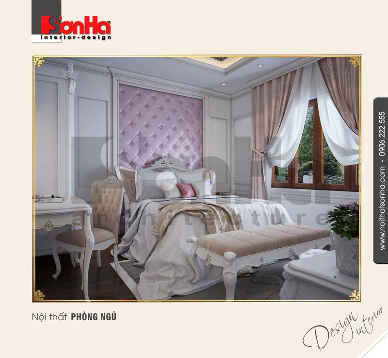 6.Mẫu nội thất phòng ngủ trang trí đẹp NT BTP 0094