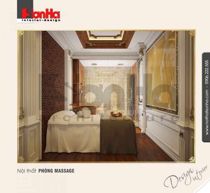 7.Thiết kế nội thất phòng massage tinh tế NT BTP 0084