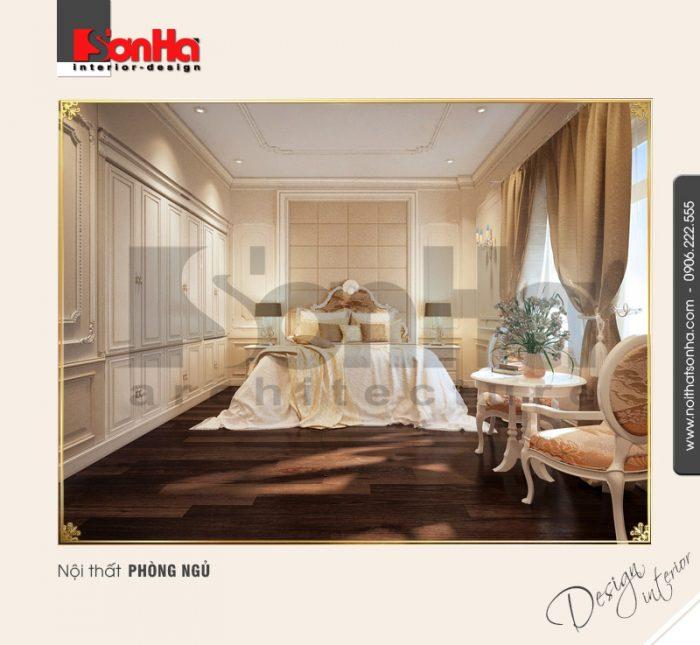 7.Thiết kế nội thất phòng ngủ bố trí đẹp