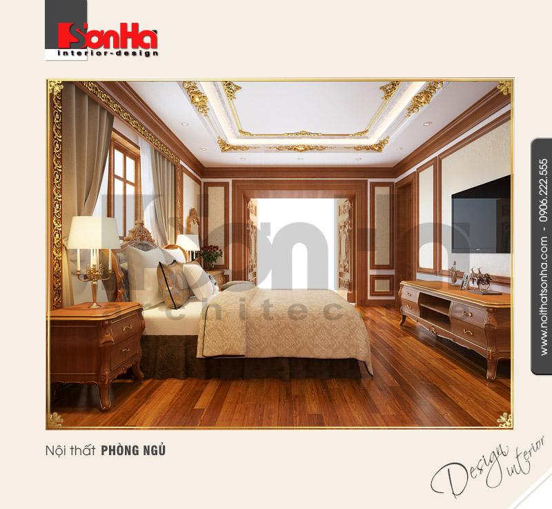7.Thiết kế nội thất phòng ngủ sang trọng đẹp