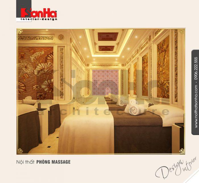 8.Mẫu nội thất phòng massage sang trọng đẹp NT BTP 0084