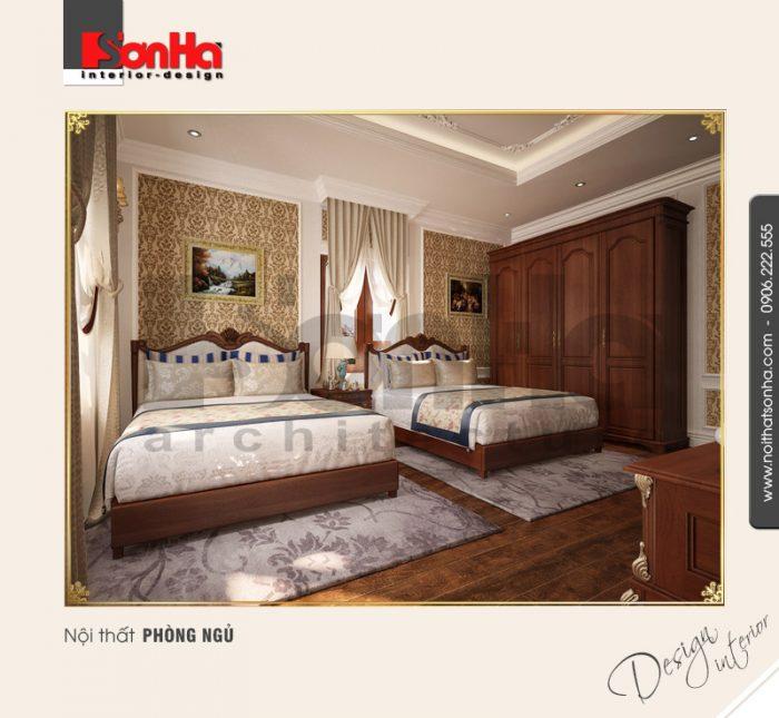 8.Mẫu nội thất phòng ngủ đẹp NT BTP 0094