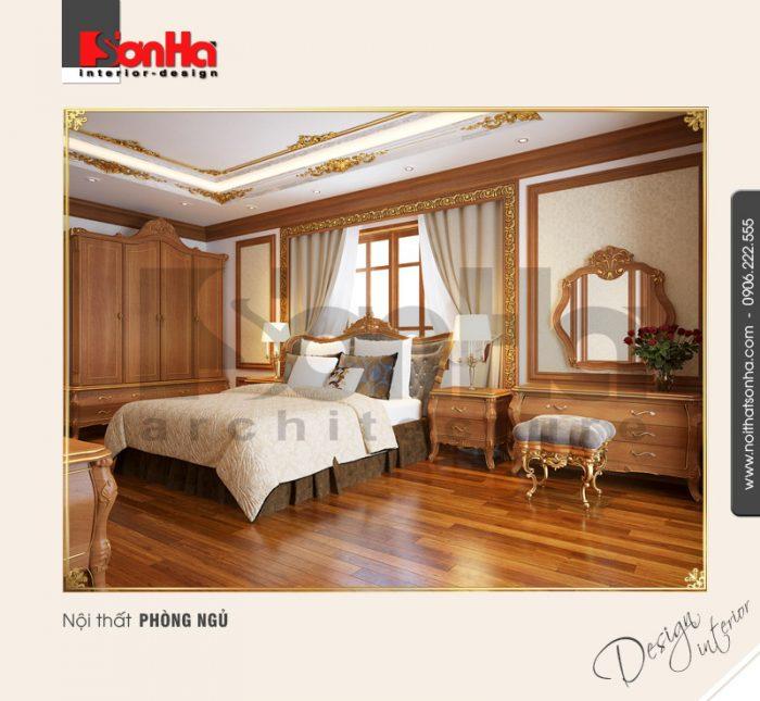 8.Mẫu nội thất phòng ngủ kiểu pháp