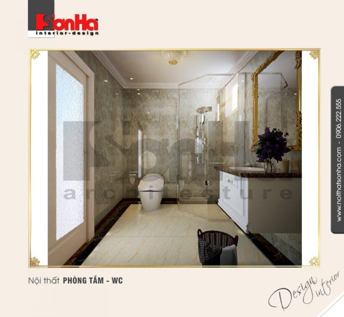 9.Mẫu nội thất phòng tắm wc sang trọng NT BTP 0092