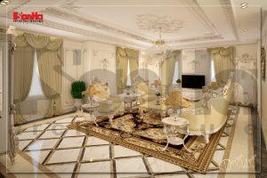 BIA Mẫu nội thất cổ điển cho biệt thự tại sài gòn NT BTP 0081