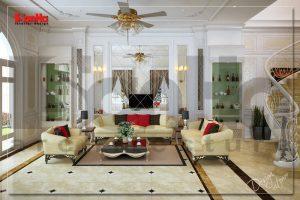 BIA Thiết kế thi công nội thất biệt thự phong cách cổ điển tại Đồng Nai NT BTP 0083