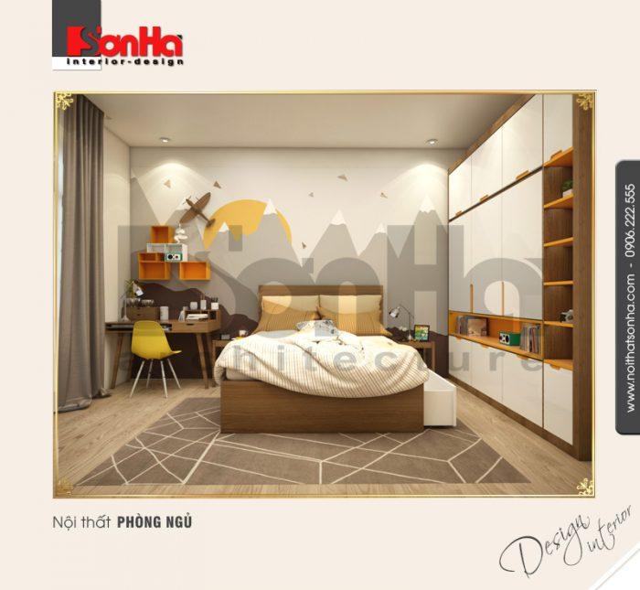 10 Mẫu nội thất phòng ngủ 3 biệt thự khu đô thị vinhomes hải phòng