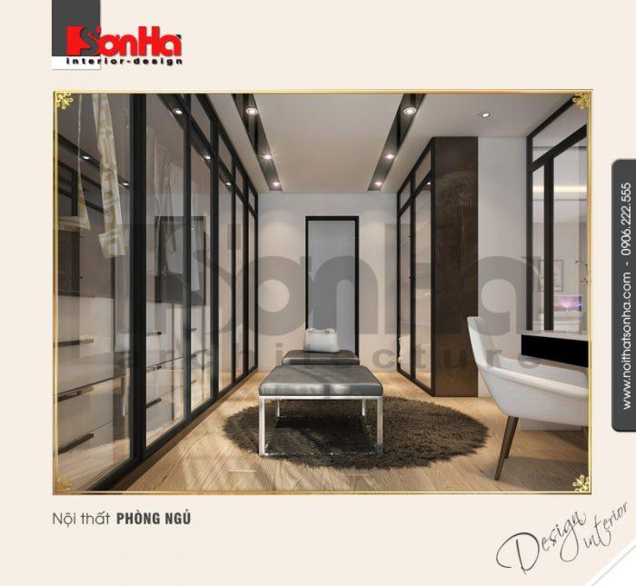 7 Thiết kế nội thất phòng ngủ master biệt thự khu đô thị vinhomes hải phòng