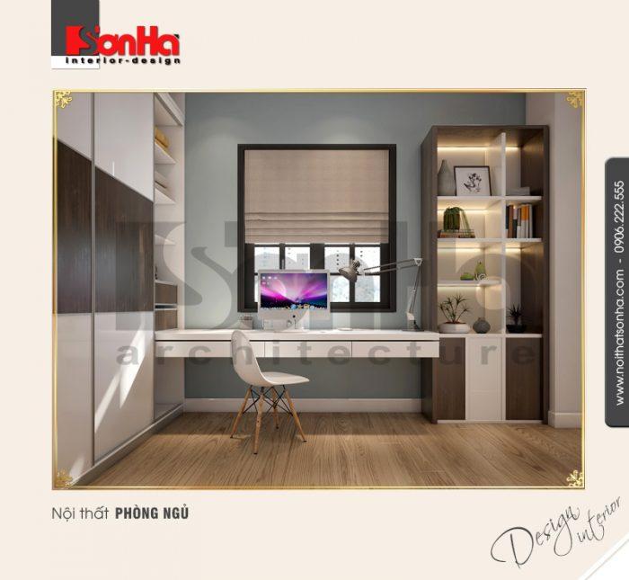 9 Thiết kế nội thất phòng ngủ 1 biệt thự khu đô thị vinhomes hải phòng